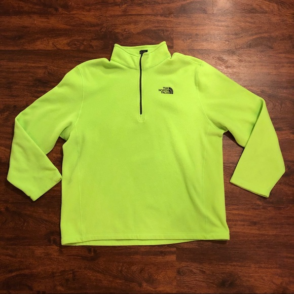 The North Face Other - Bright neon North Face